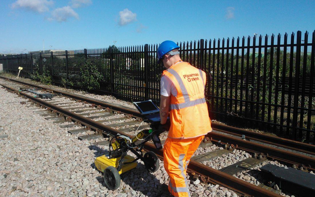 Utilities Mapping Generic Staff Equipment Rail