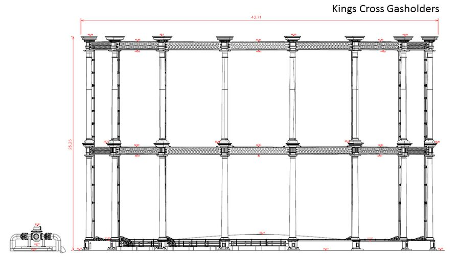 Property Kings Cross Gasholder Elevations Deliverable