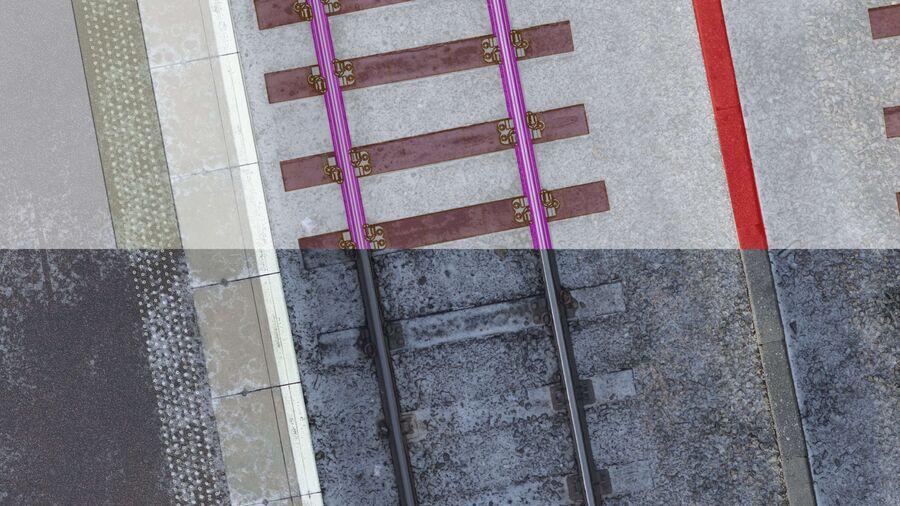 Bim Rail Uav Vogel Perth Station Model 6