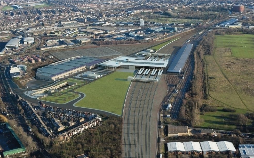 PC Monitoring Old Oak Common Rail Aerial