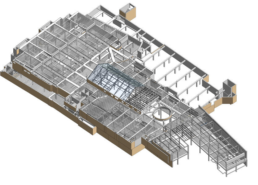 Revit model of JLP Cheltenham