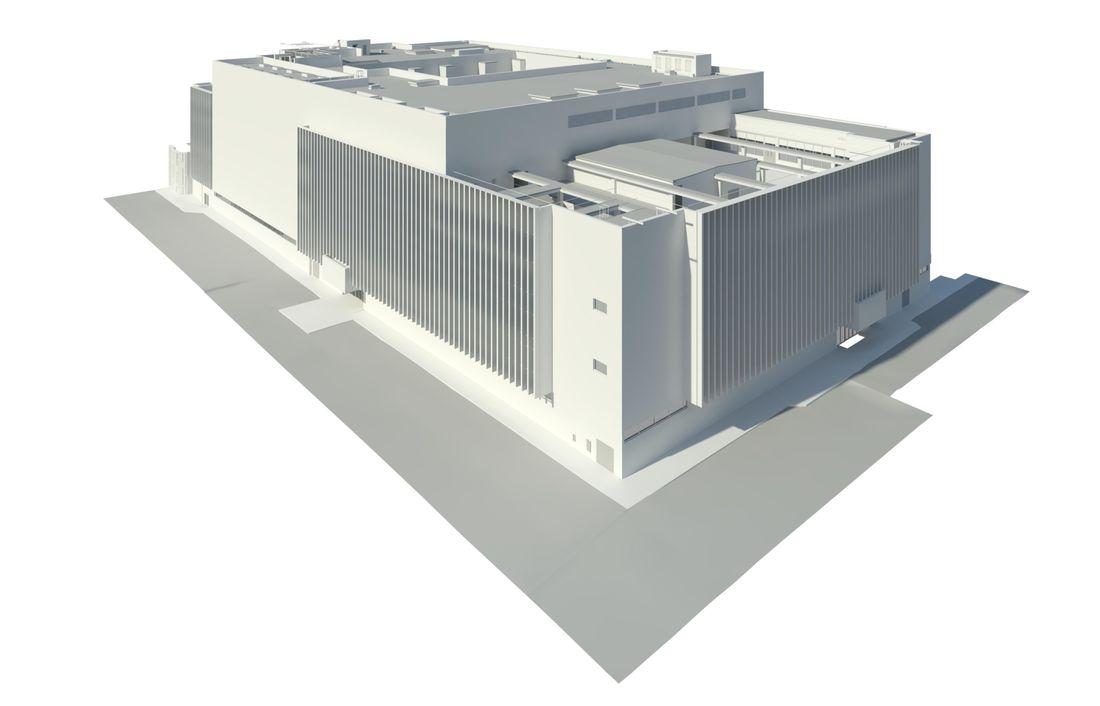 Revit model of JLP Brent Cross store