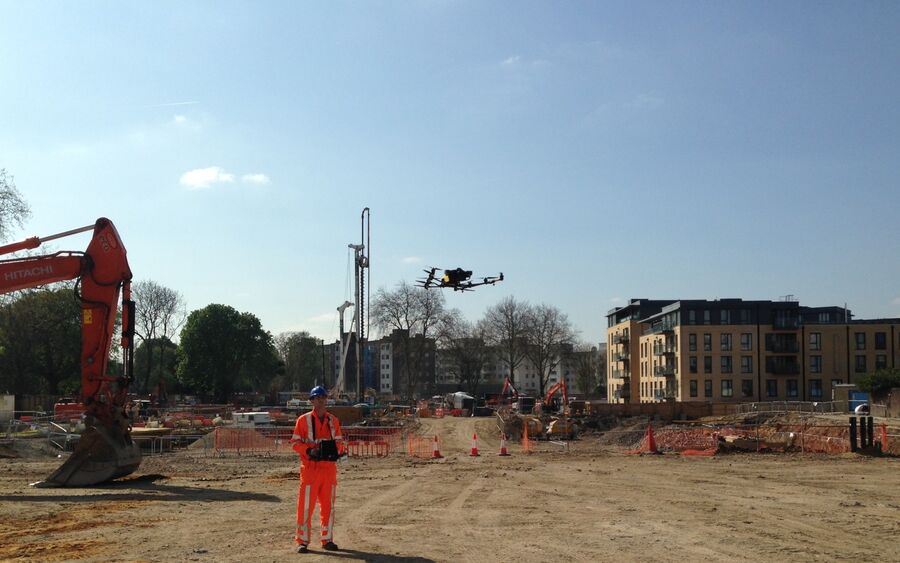 Uav Construction Site 2