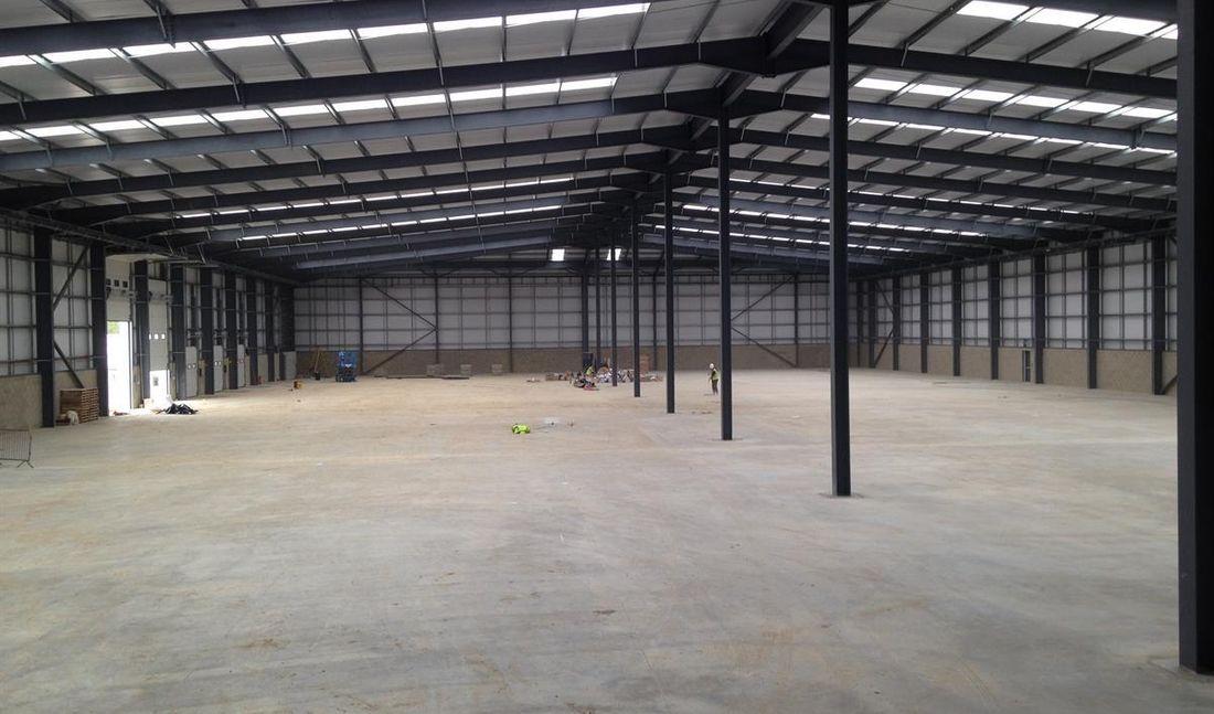 Property Industrial Warehouse Internal
