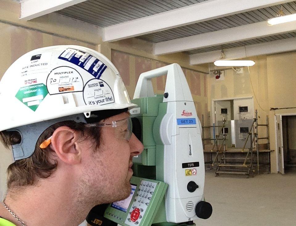 Staff Surveyor Equipment Internal