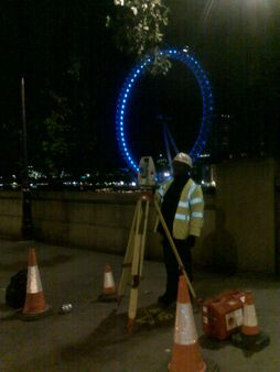 Utilities Ugs Tideway Topo Staff Equipment Survey Sewer