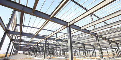 Construction Logistics Warehouse