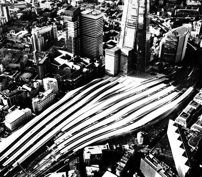 Rail London Bridge Aerial