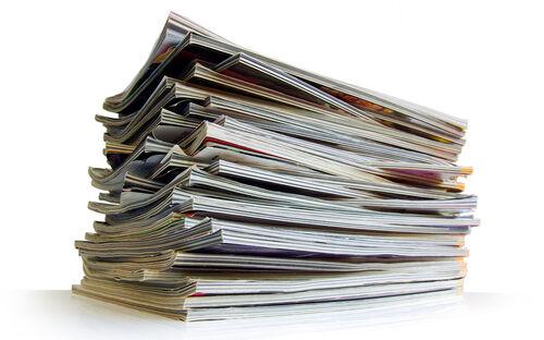 Generic In Press Magazines Shutterstock 69043618