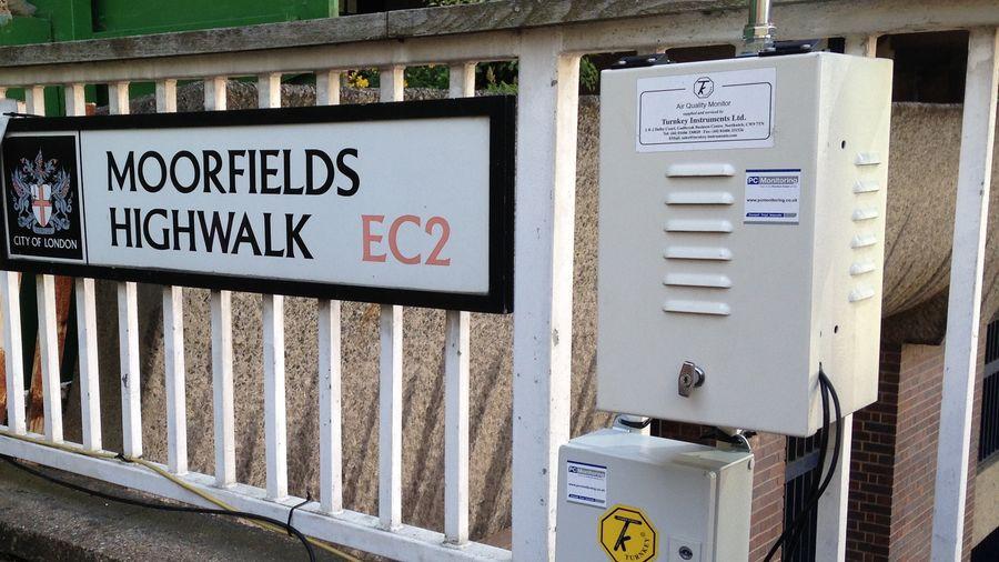 Pc Enviro Moorfields London Equipment Dust Monitor