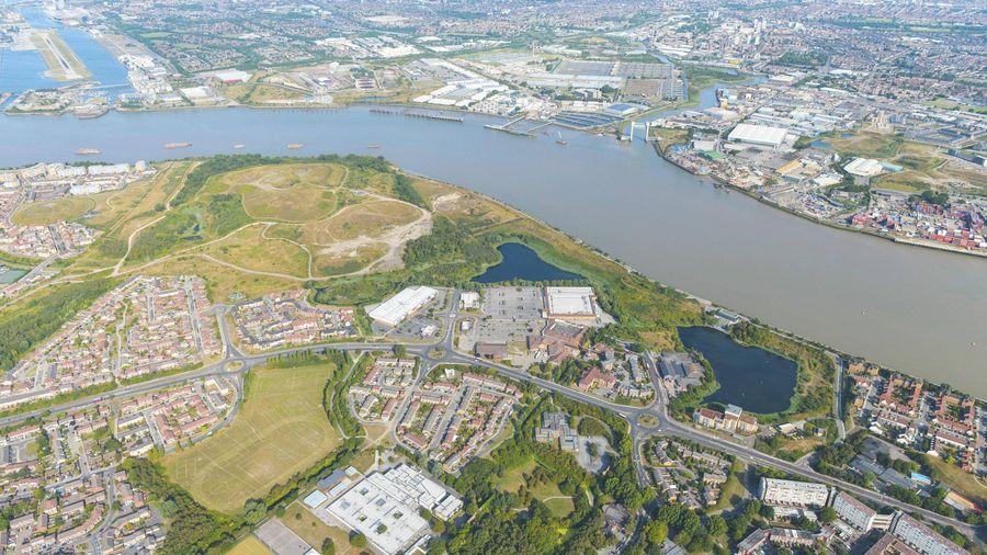 Pc Enviro West Thamesmead Aerial