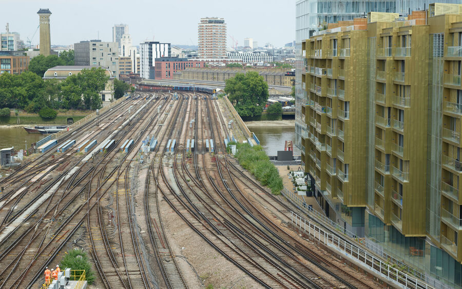 Rail Uav Vogel Battersea London 3