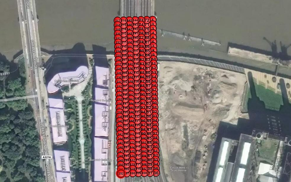 Rail Uav Vogel Battersea London Waypoint Planning
