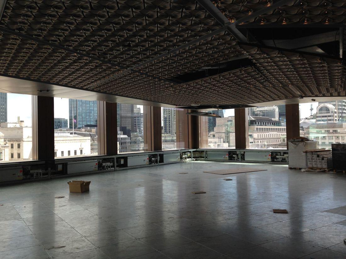 Internal floor space