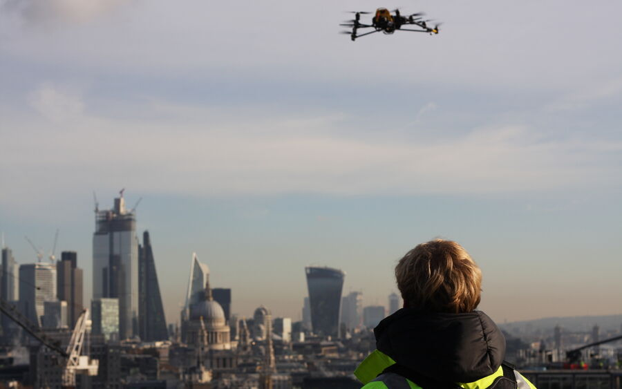 Uav Property London Staff Equipment Falcon 13