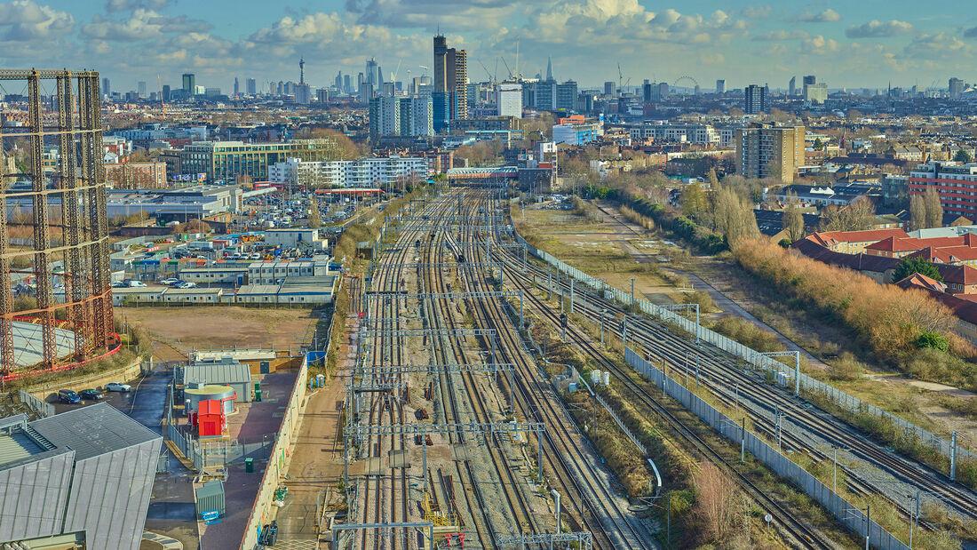 Rail Uav Vogel London Paddington