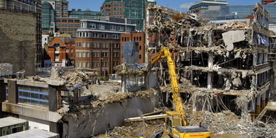 Enviro Demolition Dust Shutterstock 27377089
