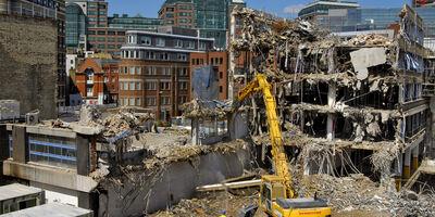 Enviro Demolition Dust Shutterstock 27377089