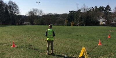 Uav Drone School Demo Staff