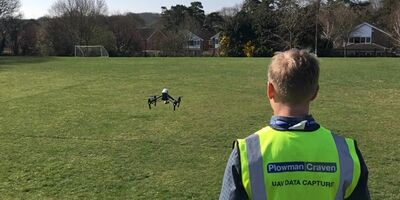 Plowman Craven takes drones to local school