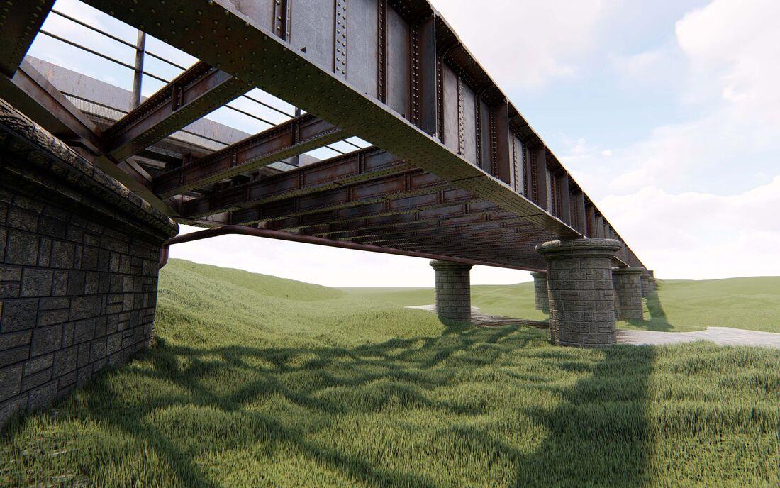 Bim Uav Vogel Scotland Don Viaduct 1