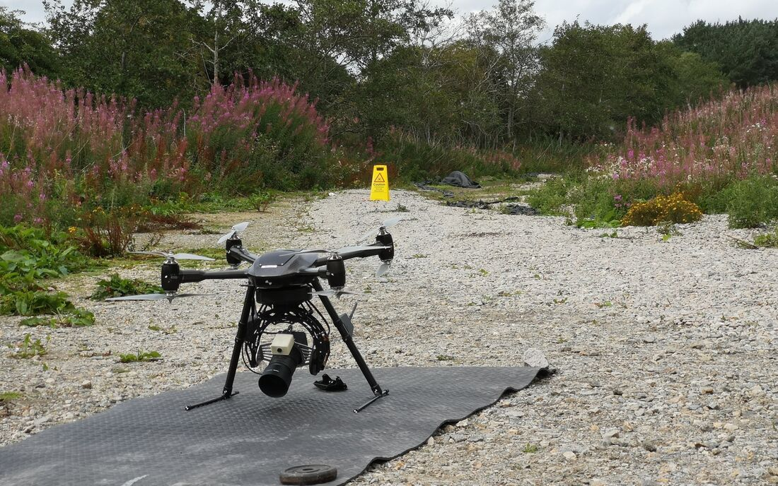 Uav Vogel Drone Scotland Don Viaduct Equipment