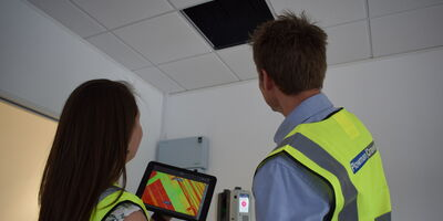 Laser Scanning Rtc 360 Staff Equipment