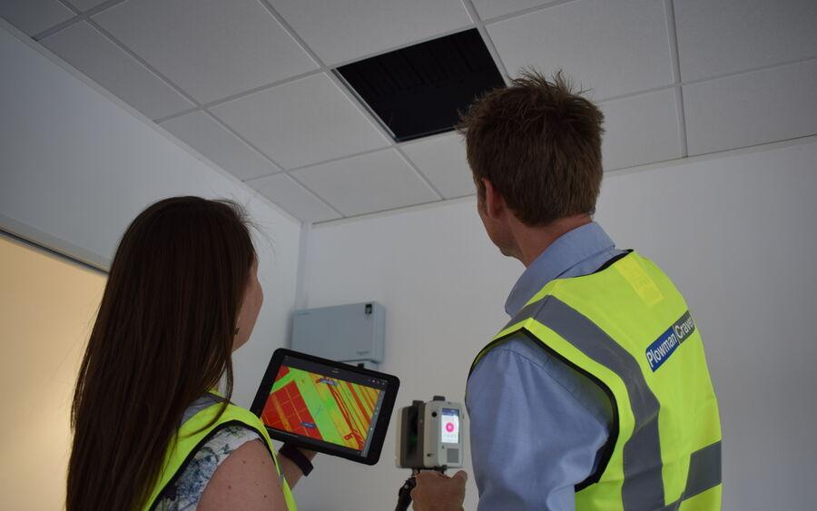 Laser Scanning Rtc 360 Staff Equipment