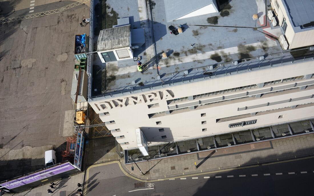 Uav Olympia Roof 8
