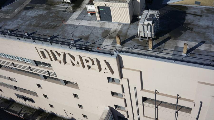 Uav Olympia Roof 9