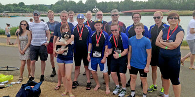 A Tri-mendous day at Dorney Lakes