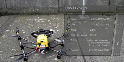 UAV surveying – new video