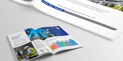 Corporate Brochure Mockup 2