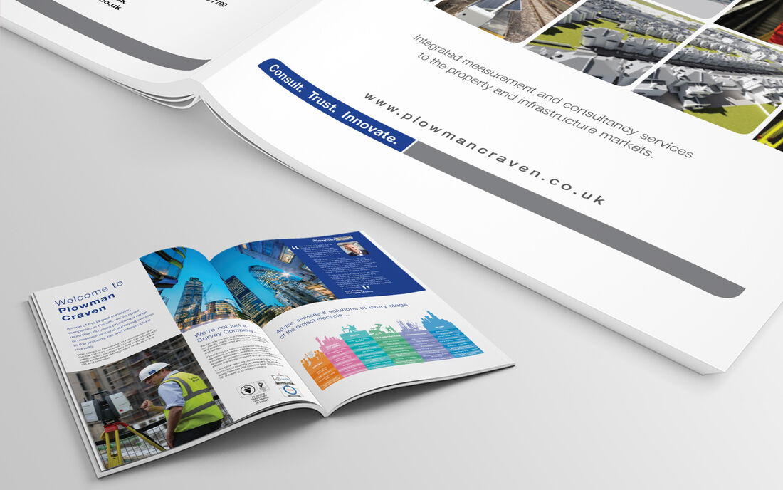 Corporate Brochure Mockup