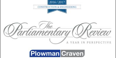 Plowman Craven featured in Parliamentary Review