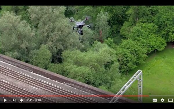 Vogel R3D - High-Accuracy Rail Drone Survey Solution