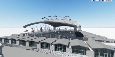 Smithfield Market - BIM UAV Case Study