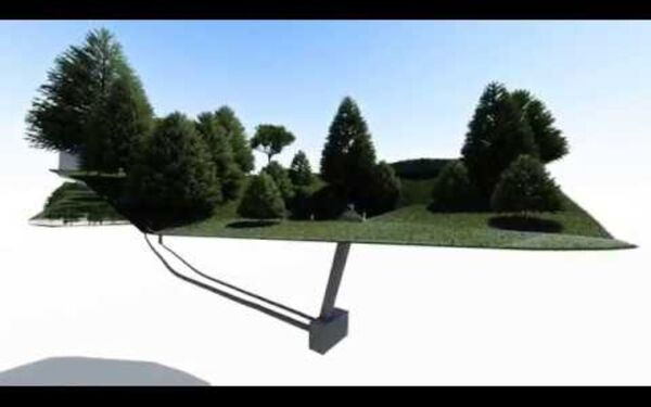 Underground Utilities Survey BIM Model Flythrough