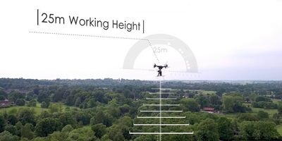 UAV drone surveying services - Plowman Craven