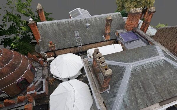 Leighton House Museum Drone Point Cloud Survey