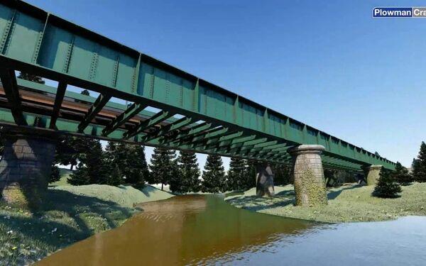 Don Viaduct Drone Survey BIM Model