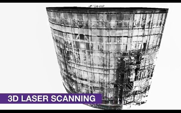 Hunterston Nuclear Power Plant Laser Scan & BIM Model